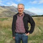 Shotover Park Ltd co-managing director Alastair Porter, of Queenstown, yesterday stands on the...