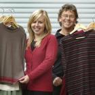 Importer-exporter... Silkbody apparel of Dunedin father and daughter team David and Emily Cooper...
