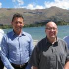 Smart Environmental businessmen Mark Lawson, of Auckland, Grahame Christian, of Auckland, Peter...