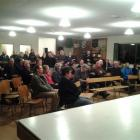 Some of about 50 people who attended  a meeting in Ngapara last night to hear police outline how...