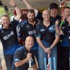 Some of the Dunedin men set to fly to Melbourne today for...