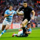Sonny Bill Williams was outstanding for the All Blacks when he come off the bench against...