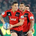 Sonny Bill Williams will be a key player for the Crusaders. Photo by NZPA