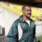 South Africa coach Peter de Villiers. Photo: Reuters