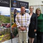 South manager Dave Hawkey, keynote speaker Amy Adams, of Occam Consulting, and Central Otago...