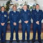 South Otago police officers (from left)  Senior Constable Graeme Ferguson,  Senior Constable Jane...