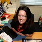 Southern Steel communications manager Kate Buchanan at her Invercargill office. Photo by Dianne...