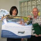 Southland District Council policy analyst Tamara Dytor and Stewart Island area engineer Irwin...