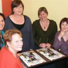 Southland social workers (from left) Southland District Health Board social worker Nora Thompson,...