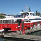 Spirit of Queenstown ready for  its voyage to Bluff by sea and to Kingston by road. Photo supplied.