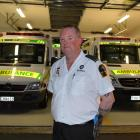 St John emergency medical technician Craig Greenall has been a St John volunteer for 14 years....