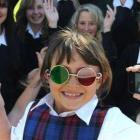 St Joseph's Cathedral School pupil Natalya Skelton takes an active part in research into the...