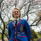 St Kevin's College head girl Isobel Ryan added another swimming blue to her blazer on Friday...