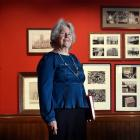 St Paul's Cathedral conservation committee chairwoman Dr Stella Cullington stands in front of...