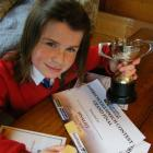 St Peter's College pupil Alice Perniskie (11) was third in the year 7&8 section of the...