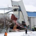 Stadium Southland collapsed under the pressure of snow in September, 2010.