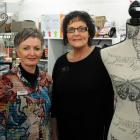 Staff member Cindy Thomson (left), of Mosgiel, and store owner Rosie Young, of Waihola, at Rosie's.