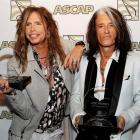 Steven Tyler (left) and Joe Perry will be honoured on Wednesday with the American Society of...