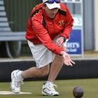 Stokes Valley bowler Blake Signal in action in the North East Valley Invitational Singles. Signal...