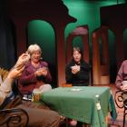 Stuart Devenie, Julie Edwards, Vivienne Aitken and Simon O'Connor. Photo by Linda Robertson.