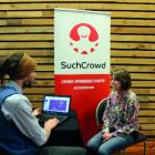 SuchCrowd chief financial officer Jacob Manning and chief executive officer Abbe Hyde discuss...