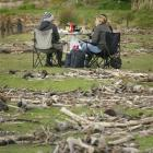 Sunny skies returned to the Bay of Plenty yesterday and holidaymakers found space to have a...
