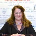 Supported volunteering co-ordinator Claire van Loon Sim helps Otago residents with mental health...