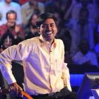 "Sushil Kumar reacts after winning ""Who wants to be a Millionaire."" REUTERS/IPAN/Handout"