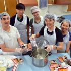 Taiwanese students (from left) Tim Chen (20), Abraham Kam, Cappi Wong (21) and siblings Andy (22)...