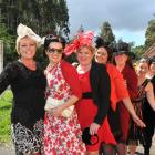 Taking the train from Dunedin to Wingatui were Vernetia Cairney, Anya Romanova, Avona Cairney,...