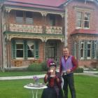 Tapanui couple Vicki Yarker-Jones and Tom Jones have planned a gala season at the historic...