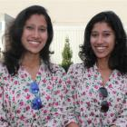 Tashi (left) and Nungshi Malik at the Southern Institute of Technology campus in Invercargill....