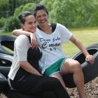 Te Ao Marama Tawhara (21) and Te Amorangi Wilson (20) have returned to their old school, Te Kura...