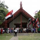 Te Tii marae at Waitangi.
