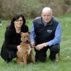 Te Whare Pounamu fund co-ordinator Ruth Molloy and Otago SPCA executive officer Phil Soper with...