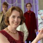 Tessa Petersen, of Dunedin, holds the iD Dunedin Fashion Week promotional image of her daughter...