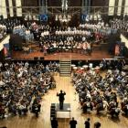 The 40th Otago Secondary Schools Music Festival opens with the combined choir and orchestra's...