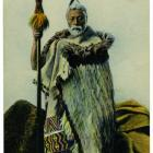 The ''old Maori'' depicted in this card is Hori Kerei Taiaroa, Paramount Chief of Ngai Tahu.