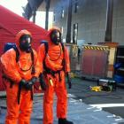 The apartment and four people had to be decontaminated after the discovery of the clan lab early...