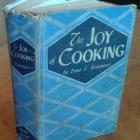 The authentic dog-eared 64-year-old copy of The Joy Of Cooking  that has lived with Roy Colbert...