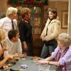 The Barlow house gets a shock when Tracy Preston (nee Barlow, right) turns up out of the blue...