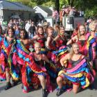 The Buckingham Belles during last year's Arrowtown Autumn Festival. Photo by James Beech.