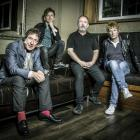 The Buzzcocks (from left): Steve Diggle, Danny Farrant, Pete Shelley and Chris Remington. Photo...