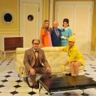 The cast of Boeing, Boeing (from left) Tom Trevella, Kelly Hocking, Phil Vaughan, Amy Straker and...