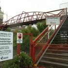 The city council will foot only the bridging costs for repairs to the Dunedin Railway Station...