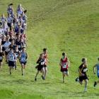 the combined junior girls and boys field. Photos by Shanneka Pearson/Peter McIntosh.