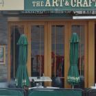 The Craft bar in Dunedin's Octagon.