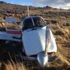 The crash site. Photo from NZ Police
