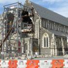 The damaged cathedral is shown in this file photo. Photo by James Beech