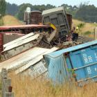 The derailment of nine wagons near Palmerston yesterday has prompted an investigation by KiwiRail...